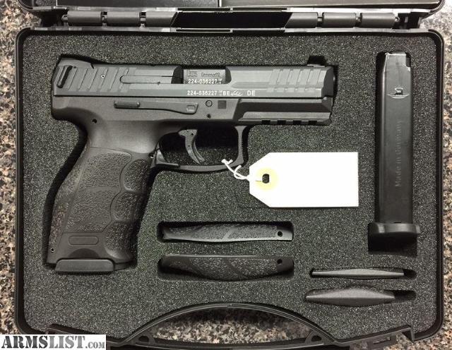 HK VP9 in 9mm Caliber. BRAND NEW IN BOX