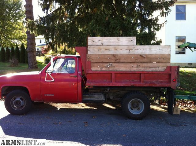 armslist for sale 1989 chevy 3500 dump truck. Black Bedroom Furniture Sets. Home Design Ideas