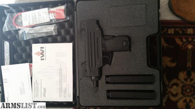 ARMSLIST - For Sale: IWI Walther  22LR Uzi Semi Auto Pistol