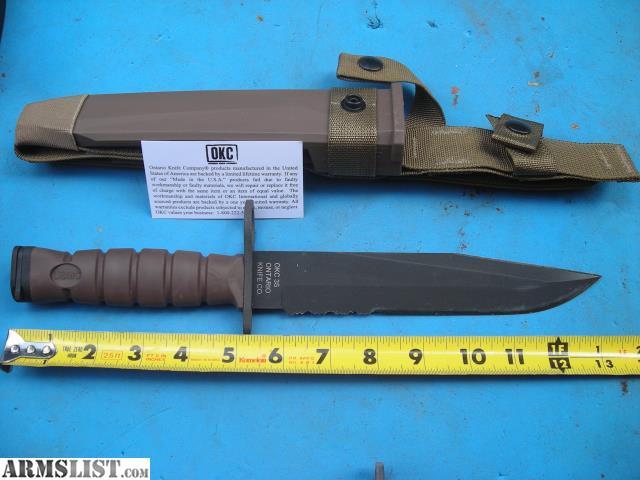 Armslist For Sale Brand New Ontario Knife Company Usmc