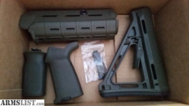 Armslist For Sale Magpul Moe Od Furniture Set