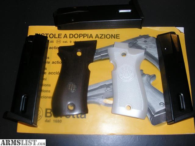 Beretta 84b owners Manual