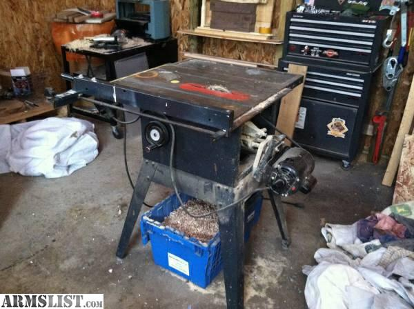 Armslist for sale 10 craftsman table saw for 10 inch table saws for sale