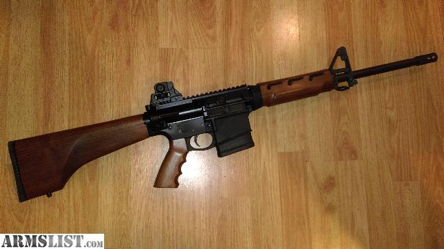 armslist for sale ar10 w dpms 2 stage trigger wood