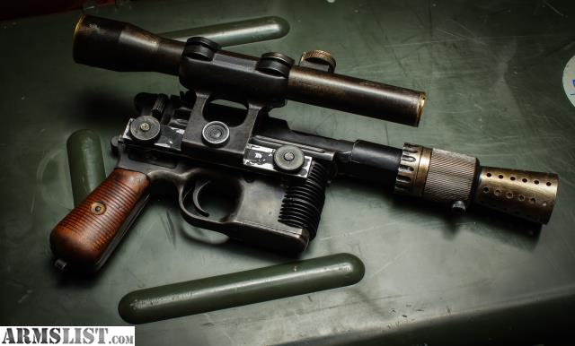 Pin on DL-44/C96 Mauser broom handle