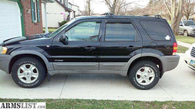 armslist for sale trade 2002 ford escape xlt 4x4 92000 miles. Black Bedroom Furniture Sets. Home Design Ideas