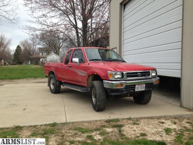 armslist for sale trade 1995 toyota 4x4 extended cab truck for sale or trade for guns and ammo. Black Bedroom Furniture Sets. Home Design Ideas