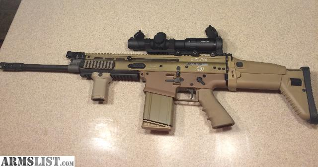 armslist for sale fn scar 17s heavy with primary arms 1x6 scope. Black Bedroom Furniture Sets. Home Design Ideas