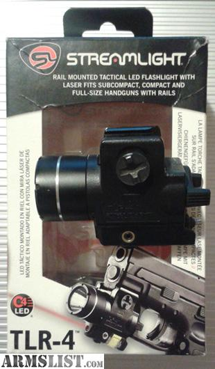 armslist for sale streamlight tlr 4 weapon light laser combo. Black Bedroom Furniture Sets. Home Design Ideas