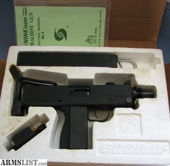 For Sale: SWD M11/9mm