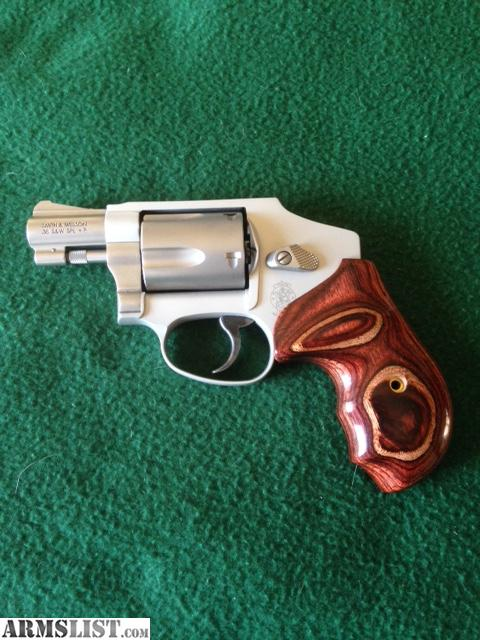 Armslist For Sale S Amp W J Frame 642 Custom Grips And