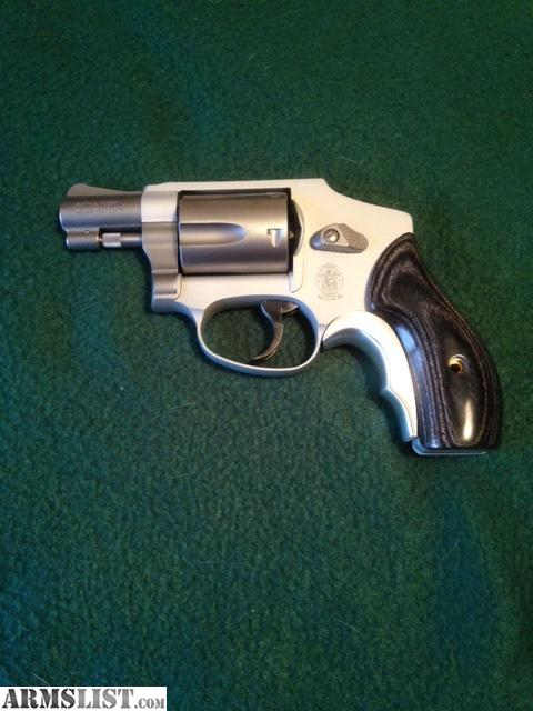 Smith U0026 Wesson SS 642 38 Spl. 1.875u201d Revolver With Custom Grips And  Professional Trigger Job With Reduced Springs Installed. Add 3% For Credit  Card Sales ...