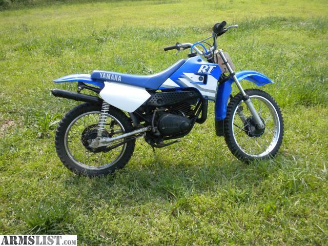 Yamaha Rt Dirt Bike For Sale
