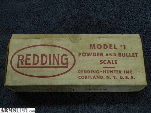 redding powder measure instructions