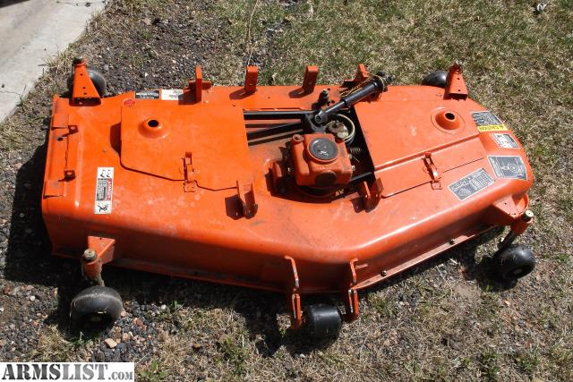 Kubota Belly Mower Decks : Armslist for sale kubota belly mower quot