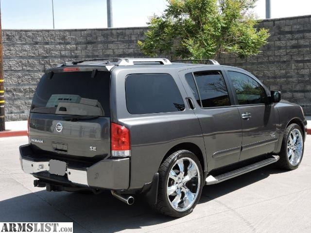 armslist for sale 2005 nissan armada 1 owner. Black Bedroom Furniture Sets. Home Design Ideas