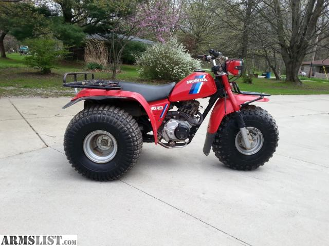 armslist for sale trade honda atc big red 200es classic utility 3 wheeler. Black Bedroom Furniture Sets. Home Design Ideas