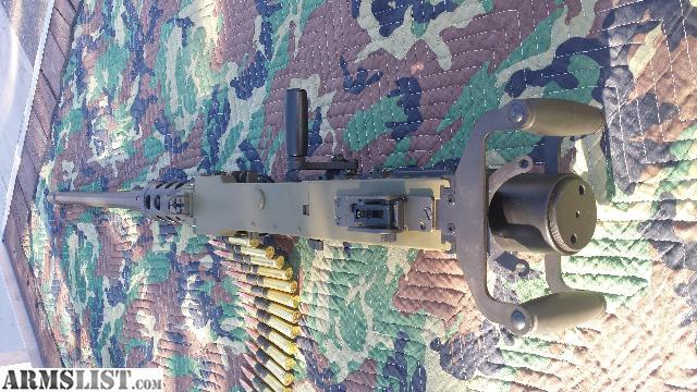 ARMSLIST - For Sale: Browning M3/M2 Classic belt fed 50 BMG SEMI