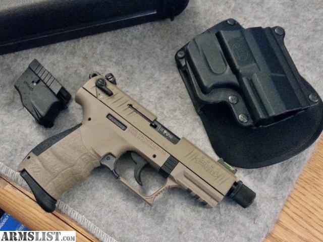 armslist for sale walther p22 fde w extras. Black Bedroom Furniture Sets. Home Design Ideas