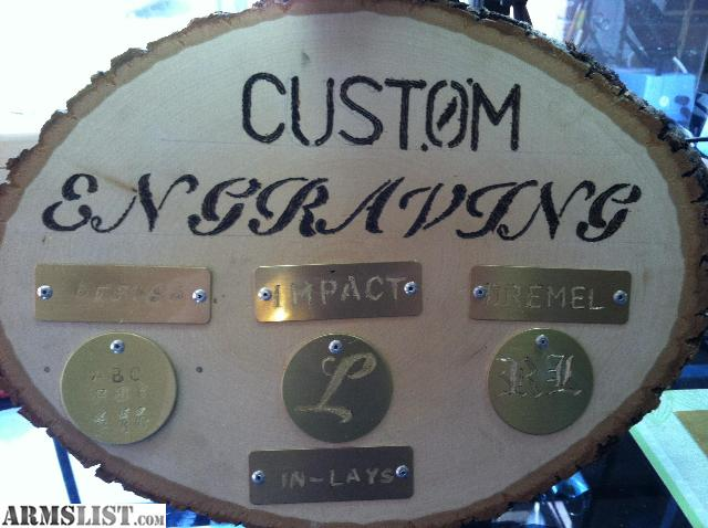 Armslist for sale custom engraving in dremel impact for Jewelry engraving gainesville fl