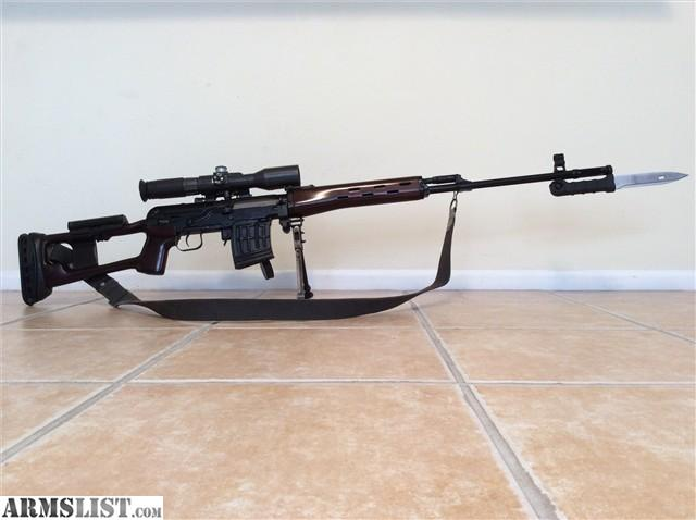 ARMSLIST - For Sale: Russian SVD Dragunov 1994 w/ Extras