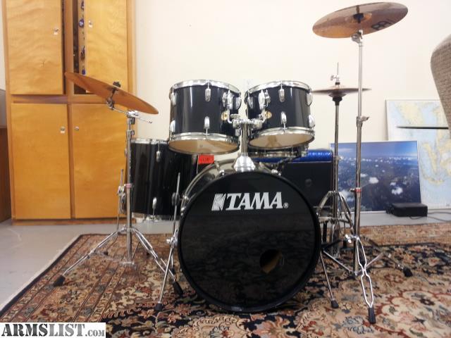 armslist for sale trade tama 5 piece drum set w goodies. Black Bedroom Furniture Sets. Home Design Ideas