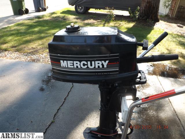 Armslist for sale mercury 4 hp outboard motor for Mercury 2 5 hp outboard motor for sale