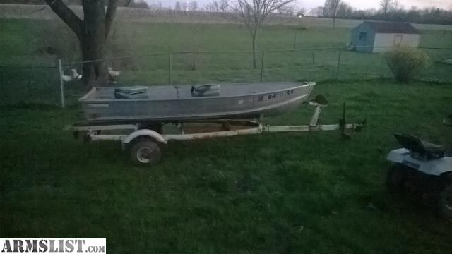 Armslist for sale trade 12 ft v bottom fishing boat for 12 foot fishing boat