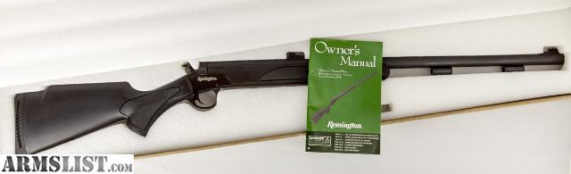 Armslist For Sale Remington Genesis In Line 50 Cal