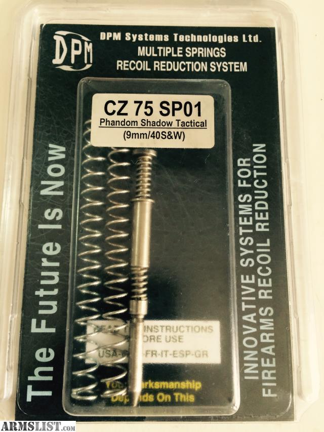 Armslist For Sale Recoil Buffer For Cz Sp 01
