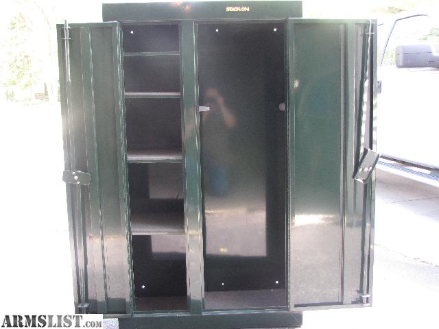 Armslist for sale double door stack on gun safe like new hunter green double door gun safe 32 wide 13 12 deep 55 high room for 10 long guns on one side and 4 shelves on the other side planetlyrics Choice Image