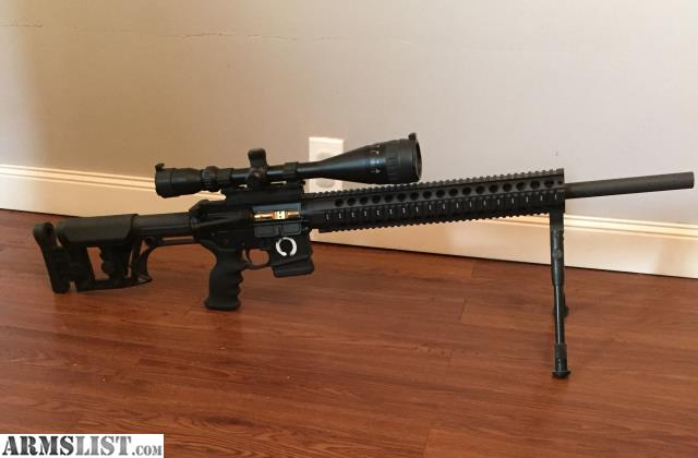 ARMSLIST - For Sale: AR15 sniper rifle, one of a kind ...