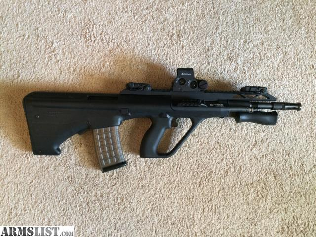 Armslist for saletrade steyr aug a3 with extras for sale is my steyr aug a3 purchased new in august of 2014 rifle has seen less than 200rds of use cleaned after both range trips voltagebd Gallery
