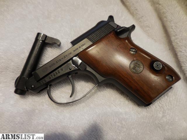 Beretta 25 Auto Pistol – Home Exsplore