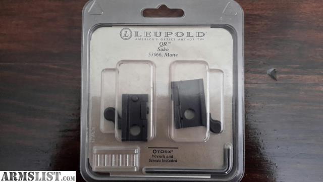 ARMSLIST - For Sale: Leupold 53066 - Quick Release scope ...