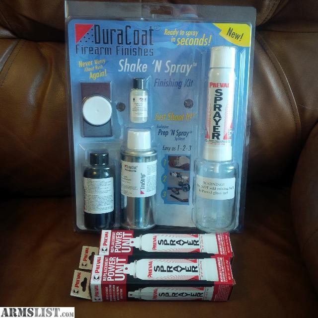 Car Spray Kit Matte: For Sale/Trade: Duracoat Shake N Spray Kit