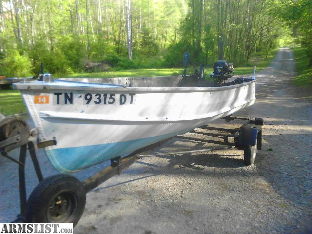 Armslist for sale trade aluminum fishing boat motor for Best aluminum fishing boat for the money