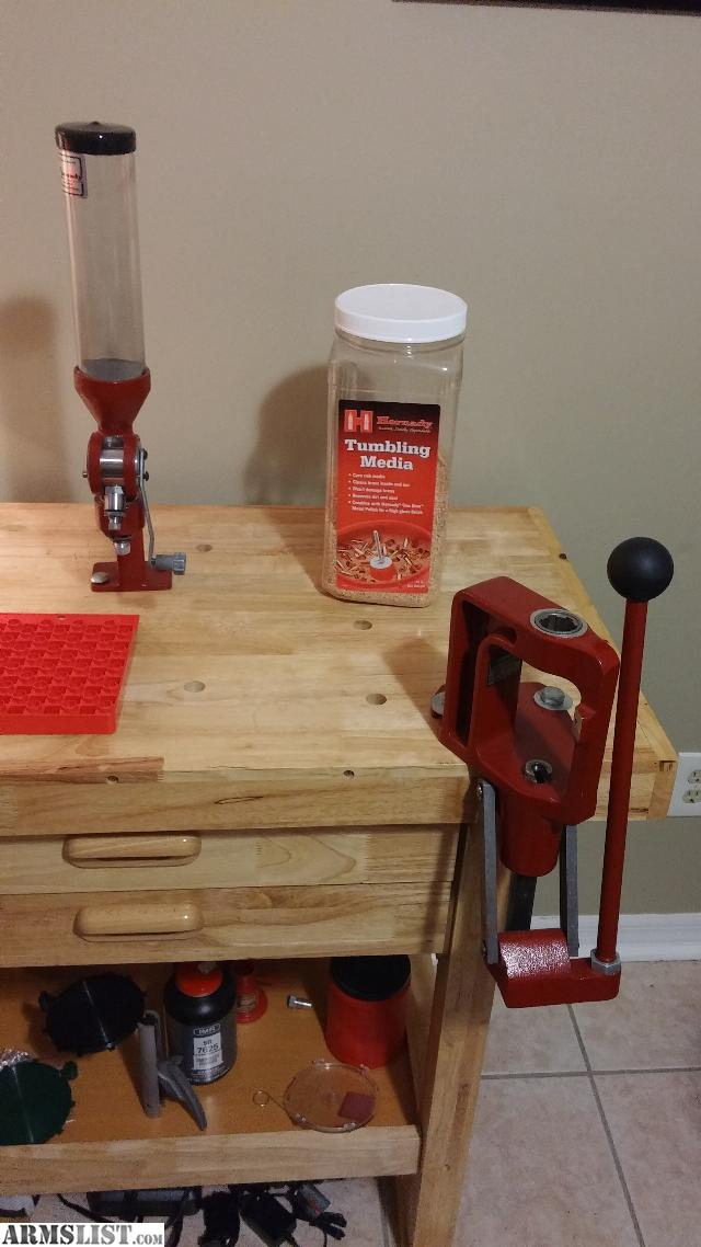 Armslist For Sale Reloading Bench Hornady Classic Kit Supplies