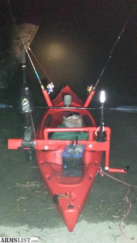 Armslist for trade 12ft red field stream kayak for Field and stream fishing kayak