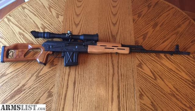 Armslist For Sale Psl 54c Fpk Dragunov W Scope