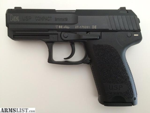 ARMSLIST - For Sale: HK USP Compact 9mm Factory LEM LNIB