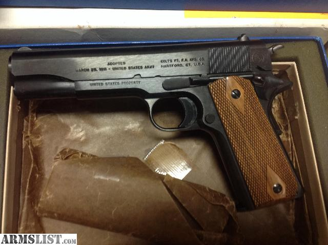 ARMSLIST - For Sale: Colt 1911 Government Model 100yr