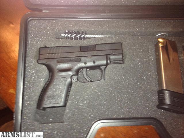 For sale trade springfield xdm 9mm and springfield xd subcompact