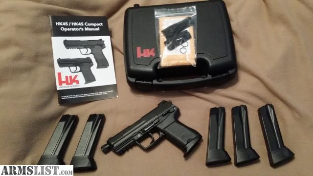 ARMSLIST - For Sale/Trade: HK45ct compact tactical V3 ...
