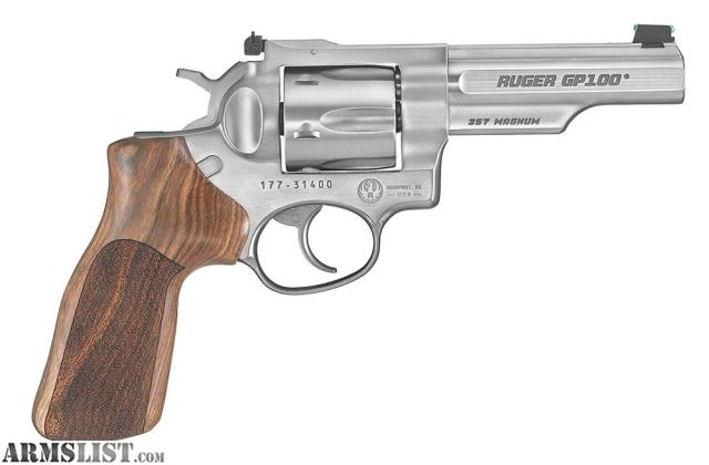 For Sale: Ruger GP100 Match Champion 357 Mag 4.2""
