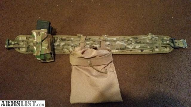 Armslist for sale hsgi padded war belt and cobra riggers interior belt for Cobra 1 75 rigger belt with interior velcro