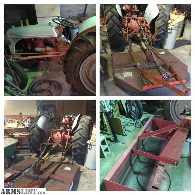 9n Ford Tractor For Sale: For Sale/Trade: 9N Tractor/Box Blade/Brush Hog