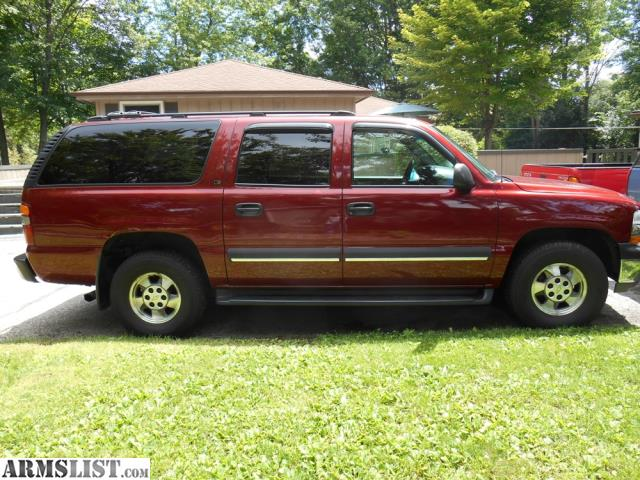 armslist for sale 2002 chevy suburban ls 1500 4x4. Black Bedroom Furniture Sets. Home Design Ideas