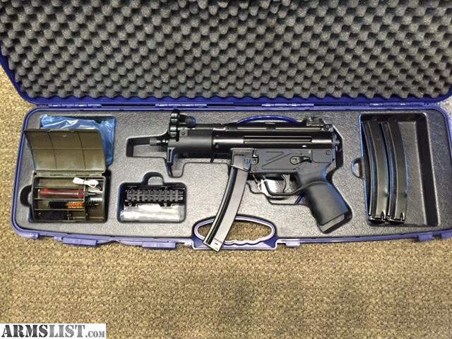 ARMSLIST - For Sale: Zenith Z-5P (HK MP5K, SP89) 9mm Turkish Contract ...