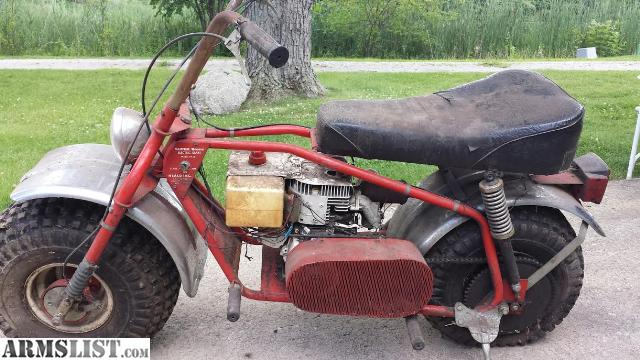 Super Bronc Mini Bike : Armslist for sale trade heald super bronc mini bike